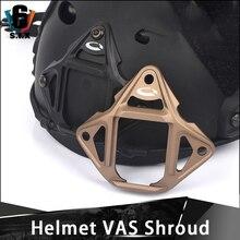 CQC алюминиевый три отверстия NVG Крепление Адаптер шлем VAS кожух тактический страйкбол шлем военный