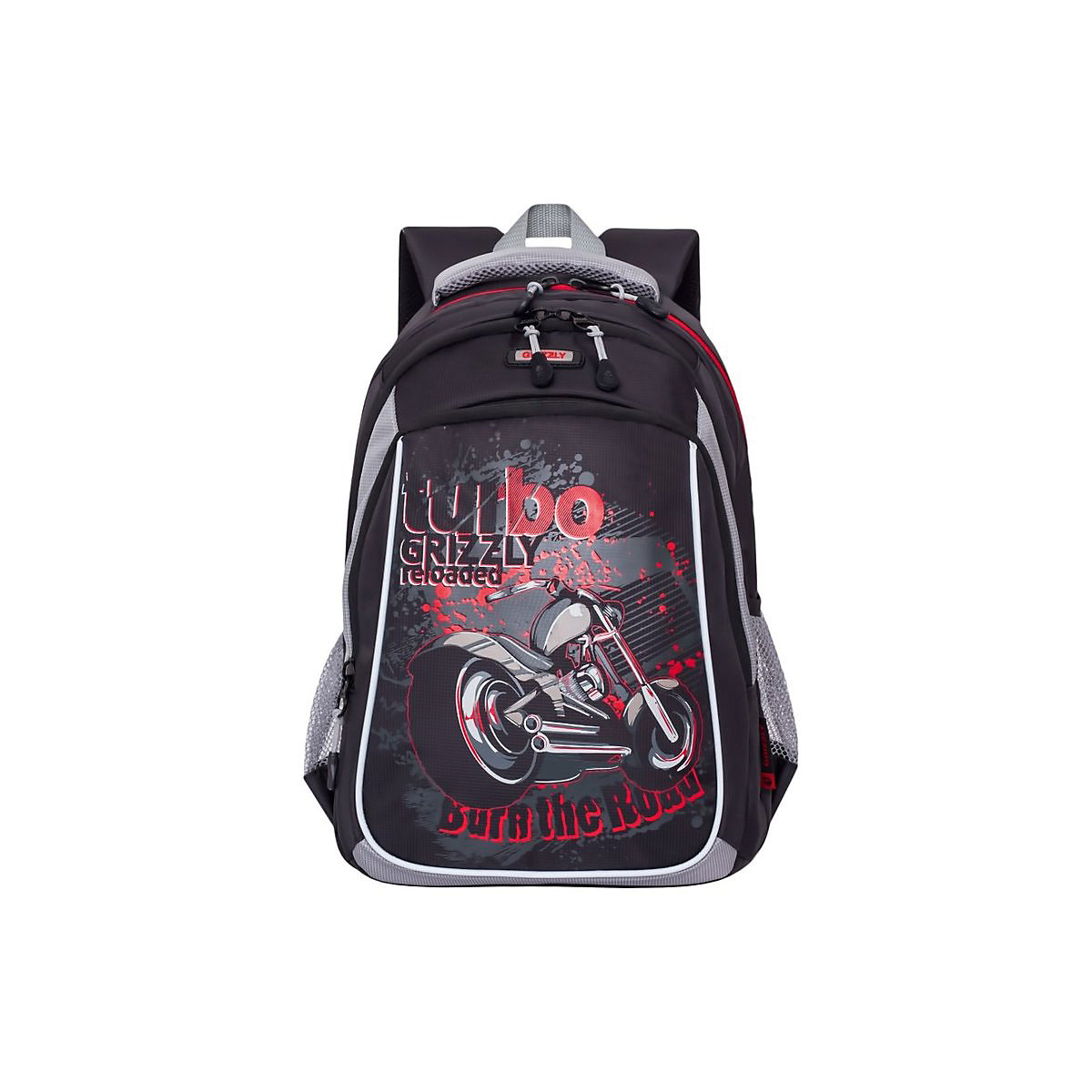 School Bags GRIZZLY 8333868 schoolbag backpack orthopedic bag for boy and girl animals flowers katekyo hitman reborn school bags anime rokudou mukuro hibari canvas messenger bag