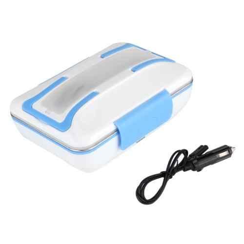 Nowy samochód 12 V 40 W elektryczny pudełko na drugie śniadanie z możliwością podgrzewania wewnętrzna doniczka ze stali nierdzewnej podgrzewacz do żywności z podgrzewaną wodą pudełka na kanapki elektryczny podgrzewacz do żywności