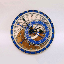 New Antique Style Clocks Astronomical 3D Wall Clock