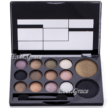 ICYCHEER Makeup 14 Colors Natural Eyeshadow Palette Warm Smokey Shimmer Nude Eye Shadow
