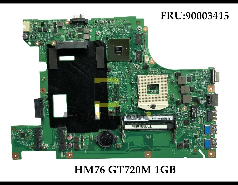 High Quality 48.4TE05.011 For Lenovo B580 V580C B590 Laptop Motherboard FRU:90003415 GeForce 720M 1GB HM77 100% Fully Tested