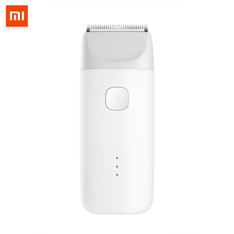 Xiaomi MiTu tondeuse à cheveux USB Rechargeable sûr IPX7 étanche électrique tondeuse à cheveux moteur silencieux pour enfants bébé hommes