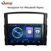 9 дюймов Android 8,1 Автомобильная dvd-навигационная система для Mitsubishi Pajero 2006-2011 Мультимедиа Радио системы