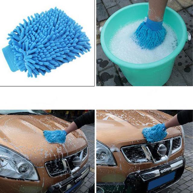 Microfiber Car Cleaning Brush.