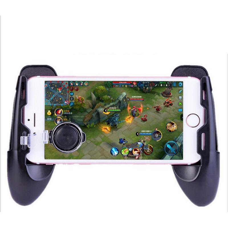 Three In One Gamepad Stretchable Mini Handle Assisted Game Handle For Mobile Legends 1PC image