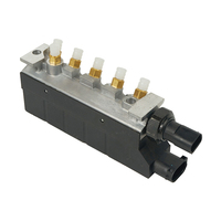 1x Новинка; Лидер продаж клапан пневматической подвески блок для Mercedes W220/350/430 S500/600 S55/6