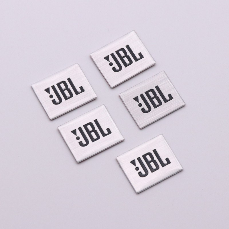 2X JBL audio sticker vinyl decal white