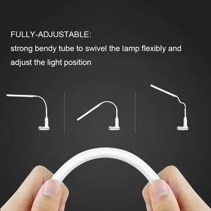 Image 4 - 5 ワット目の保護 Led デスクランプ無段階調光対応 Usb タッチセンサー制御 24 LED テーブルランプ