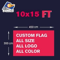 10x15FT Custom Banners Free Design Customize LGBT Flag 100D Polyester 450x300cm All Logos and Colors and Sizes 2018 New Sale