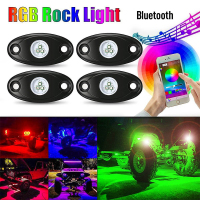 Car LED Bluetooth Phone Control Car Light Atmosphere Lamp Decoration Light Lamp Waterproof For Car Accessories