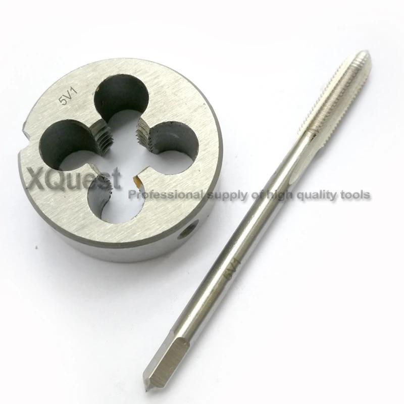 1 set  8V1 Schrader Tyre Valve Thread tap and Die Threading Tool