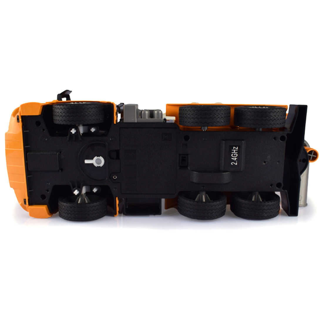 1:26 2,4G RC vehículo de construcción volquete camión volquete modelo RC coche de juguete para niños RC camiones