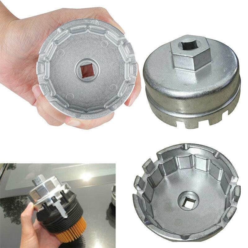 Llave inglesa de filtro de aceite de 64mm para Toyota, Lexus, Corolla, Rav4, Matrix, Prius