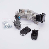 Auto Spare Parts For 2013 models Honda ling pai full car door ignition lock core assembly 06350 T6P H01