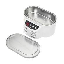 Us Plug 30 Вт 50 Вт/110 В мини Ультразвуковой очиститель машина ванна для очистки ювелирных изделий Часы Очки монтажная плата Limpiador Ultraso