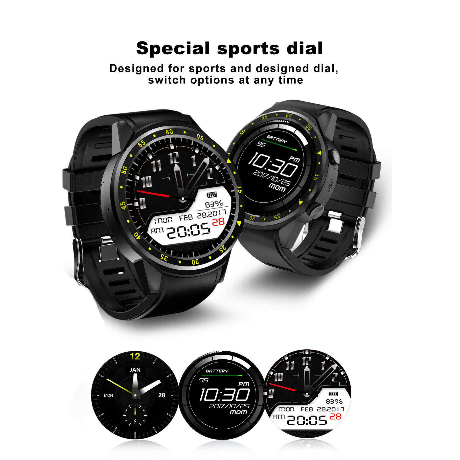 Bluetooth Smart Wrist Watch Sports GPS SIM GSM For IOS Android iPhone SamsungBluetooth Smart Wrist Watch Sports GPS SIM GSM For IOS Android iPhone Samsung
