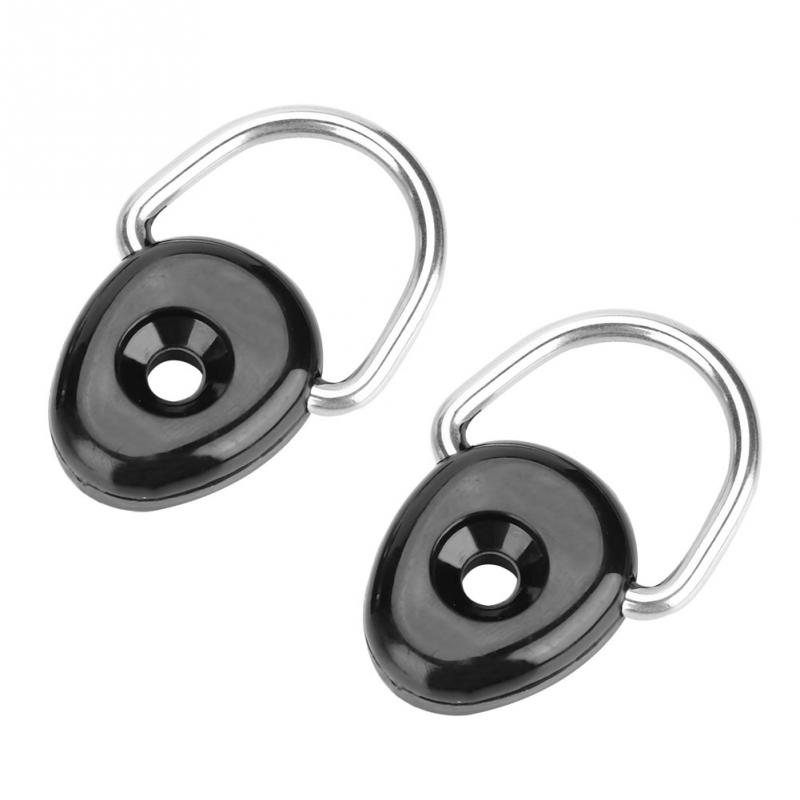1//2//4Pcs Kayak Canoe Boat D Ring Tie Down Loop Safety Deck Fitting Accessory