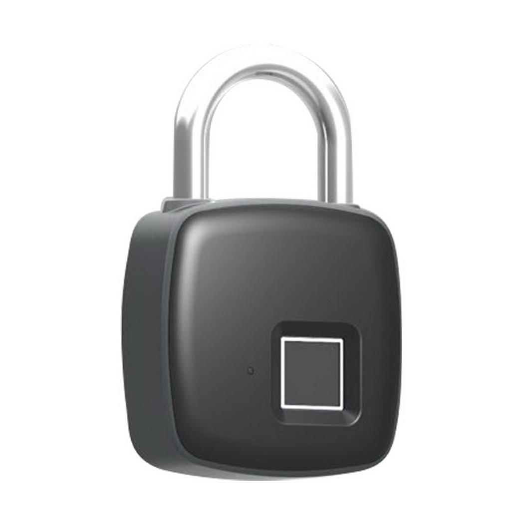 Identification biométrique électronique Portable étanche Anti-vol serrure d'empreintes digitales cadenas à empreinte digitale intelligente