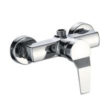 1 pc お風呂シャワーの蛇口コールドとホット水耐久性のある亜鉛合金ウォールマウント水制御バルブ混合弁浴室蛇口