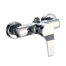 1Pc Bath Shower Faucets Cold and Hot Water Durable Zinc Alloy Wall Mounted Water Control Valve Mixing Valve Bathroom Faucets