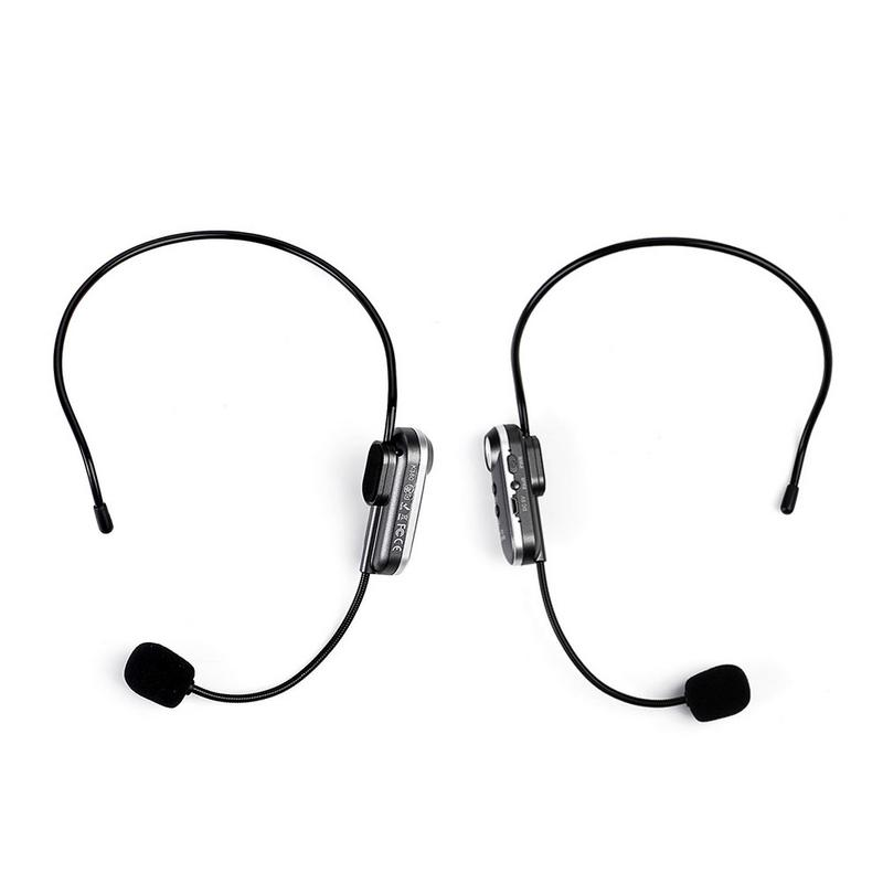 New K380 Portable Head mounted Wireless Bluetooth Microphone With FM Transmission High Quality Conference Mic Fast Delivery in Microphones from Consumer Electronics