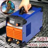 DC Inverter ARC Welders 220V IGBT Electric Welding Machine 10 400 Amp for Welding Working and Electric Working