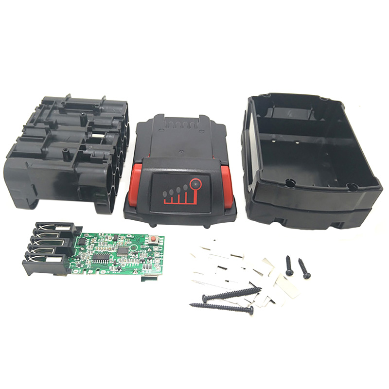 M18B Li Ion Battery Plastic Case Charging Protection Circuit Board For Milwaukee 18V M18 48 11 1815 3Ah 4Ah 5Ah PCB Board Shel|Battery Storage Boxes| |  - title=