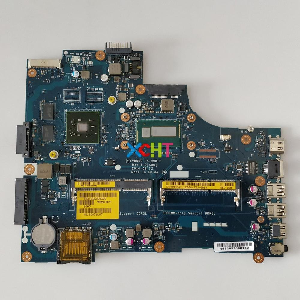MXM3Y 0MXM3Y CN 0MXM3Y w I5 4200U CPU VBW00 LA 9981P for Dell Inspiron 15R 5537 3537 NoteBook PC Laptop Motherboard Mainboard-in Laptop Motherboard from Computer & Office