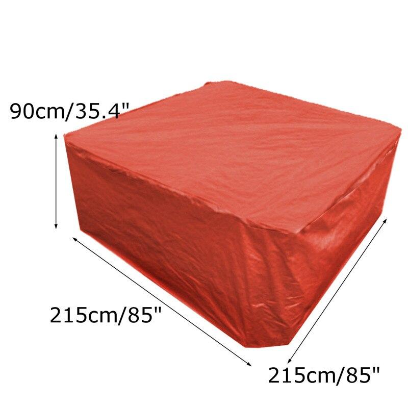 Vasca idromassaggio copertura guardia proteggere Anti-UV anticorrosivo copertura