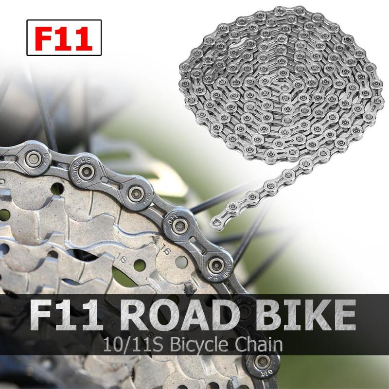 Bicycle Chain F11 Road <font><b>Bike</b></font> 10/11S <font><b>Giant</b></font> <font><b>Bike</b></font> <font><b>Accessories</b></font> Cycling Parts for MTB Road Bicycle image