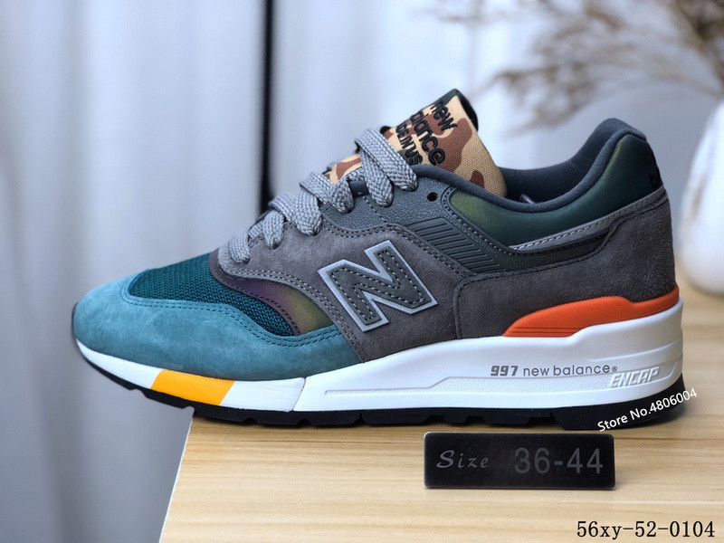 72e86c7e335 US $83.88 5% OFF|2019 original New Balance 997 Men sports shoes NB997 joker  women running shoes 2 color Eur36 44-in Running Shoes from Sports & ...