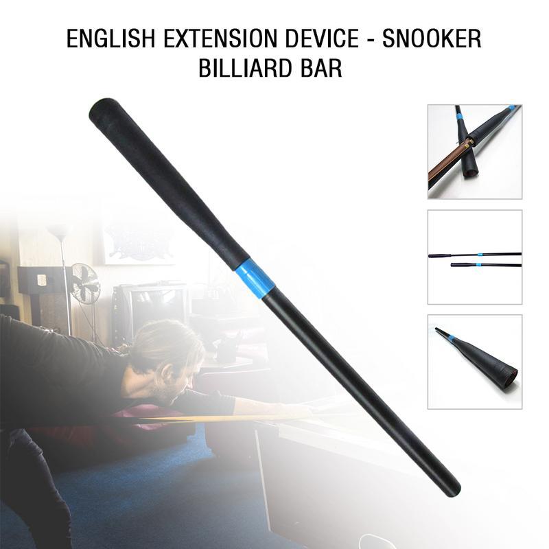 72cm Plastic Snooker Cue Extension Extend Pool Snooker Cue Extenders Billiards Accessories