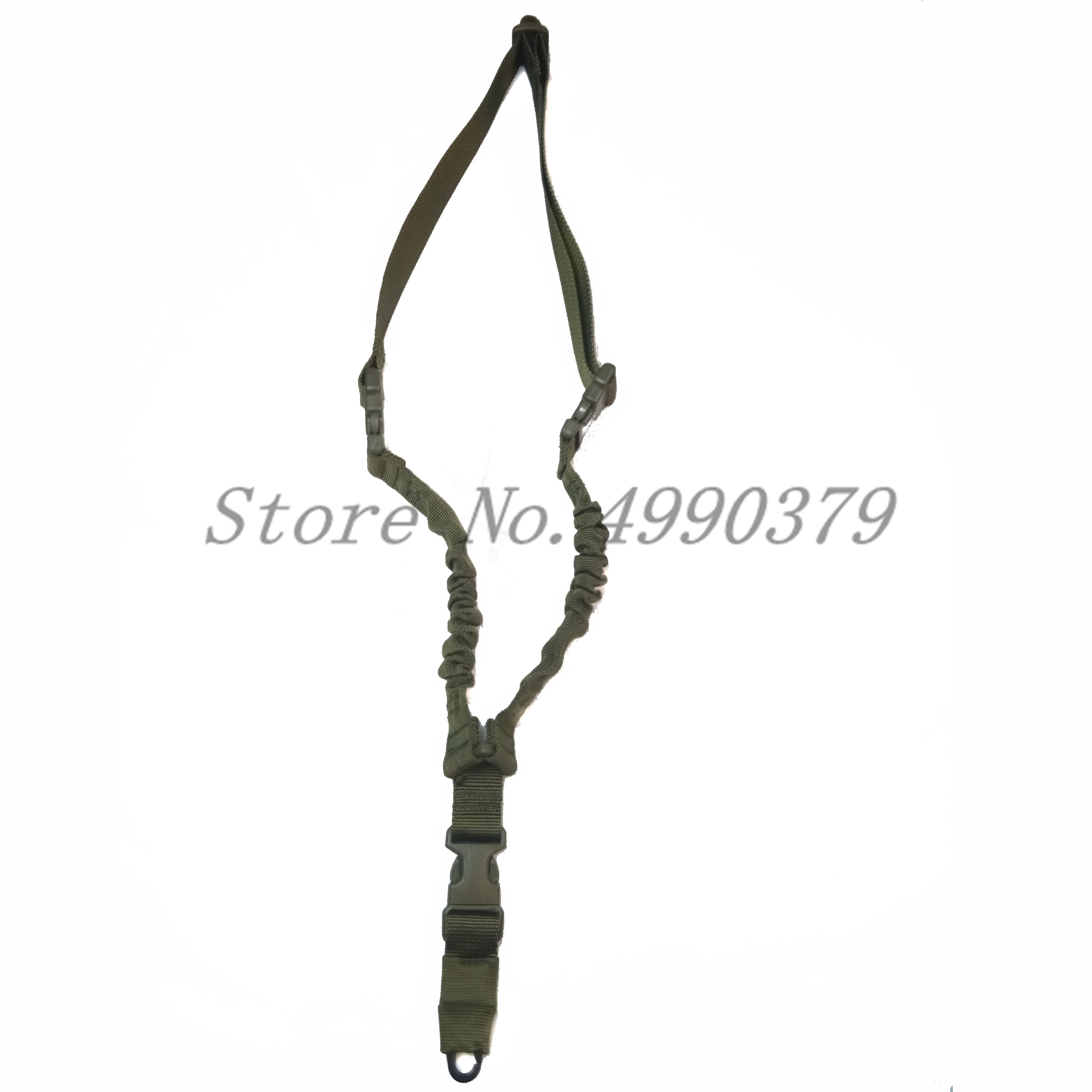 Image 3 - Tactical One PoiRifle Gun Sling Strap System Hunting Adjustable Nylon Single Point Rifle Strap Free Shipping-in Hunting Gun Accessories from Sports & Entertainment