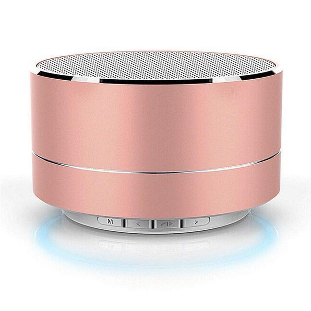 Ostart Mini Altavoz Bluetooth inalámbrico PORTÁTIL ESTÉREO altavoces con micrófono MINI Subwoof inteligente columna altavoz