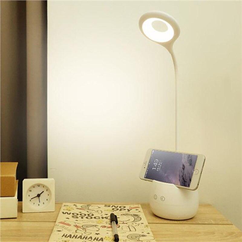 Gehoorzaam Touch Sensor Switch Bureaulamp Usb Led Tafellamp Dimbare Boekenkast Nachtkastje Lezen Boek Lichten Oplaadbare Nachtlampje Betrouwbare Prestaties