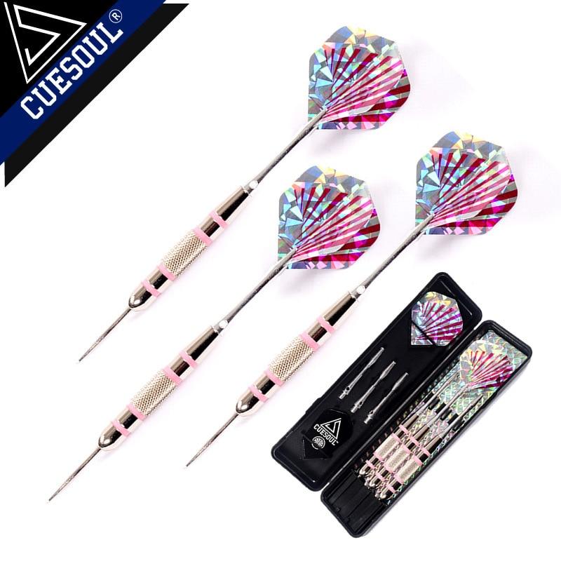 Noua CUESOUL 3PCS / Set 24g 16cm Tip Otel Darts Ace Acasa Metal Dart Arbori Laser Dart Zboruri