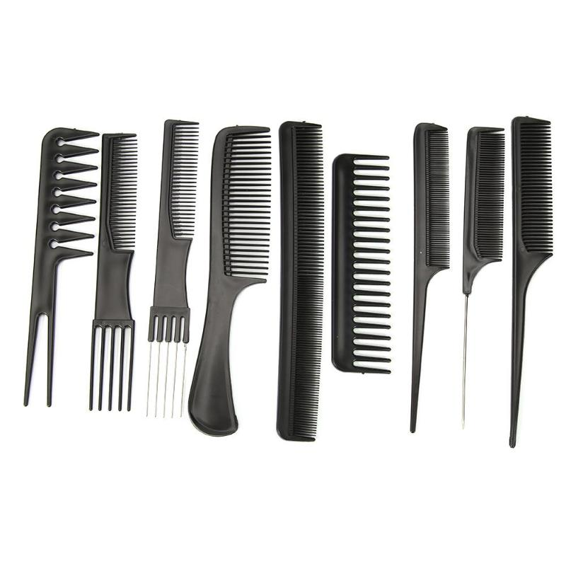 9 Styles Anti-static Hairdressing Comb Straight Hair Brushes Barber Hair Cutting Comb Professional Salon Hair Care Styling Tool