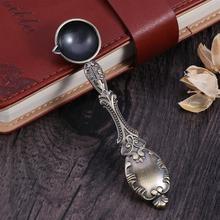 Высококачественная Античная Медная ложка, ложка для краски, уплотнительная ложка для воска, специальная для уплотнения(11x2,7 cm