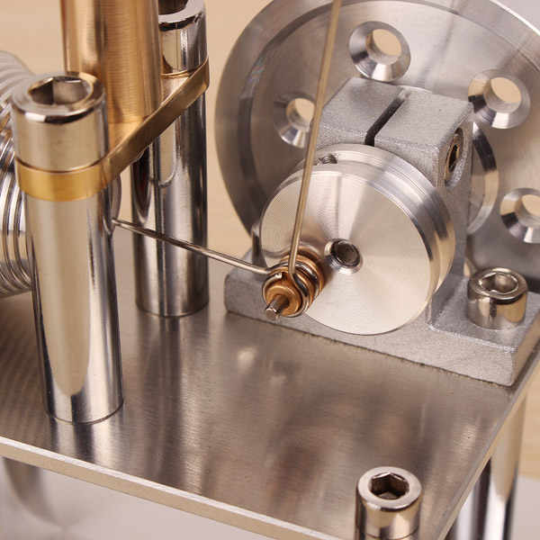 Mini equilíbrio de ar quente stirling motor gerador modelo ciência & descoberta brinquedos kits brinquedo educacional física experimento