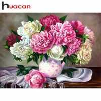 Huacan 5D Diamant Malerei Voll Platz Blume Diamant Stickerei Verkauf Bohrer Bild Von Strass Mosaic Handgemachtes Geschenk