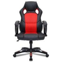 Регулируемый кожаный офисное кресло эргономичного дизайна высокой спинкой игровые кресла лежащего Исполнительный мягкий стул с подножкой...