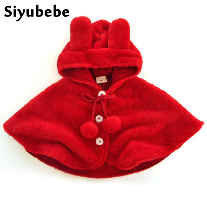 Sincere Kids Girls Coat Baby Girl Thick Cotton Hooded Jackets Toddler Girls Shawl Cape Clothes Animal Cartoon Poncho Outerwear Snowsuit Without Return Mother & Kids Girls' Clothing