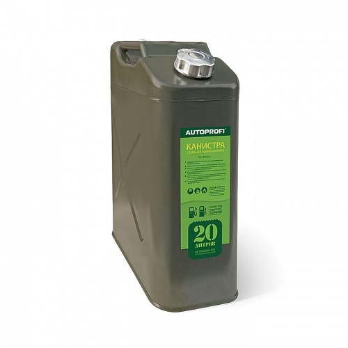 Canister steel Автопрофи KAN-300 (20L) канистра autoprofi kan 100 20l