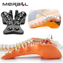 Correct Cervical Vertebra Lumbar Traction Straight Spine Spine Relax Back Massage Board Brace Back Stretching Device Health Care spine relax 115 thinsulate nnn 37