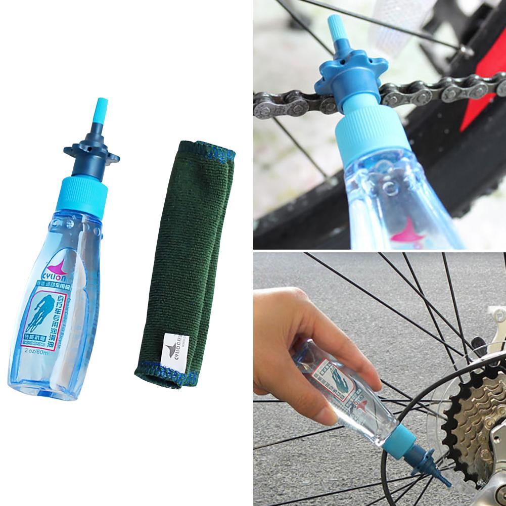 60ml MTB Bike Chain Lube Lubricat Cycling Lubrication Maintenance Oil Bicycle Bike Lubricating Oil Lube Cleaner Repair Tool Grea