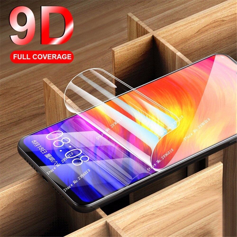 For Xiaomi Redmi7 9D Soft Hydrogel Screen Protector Film Redmi Note 6 7 5 Pro Plus 4X 4 Not Glass