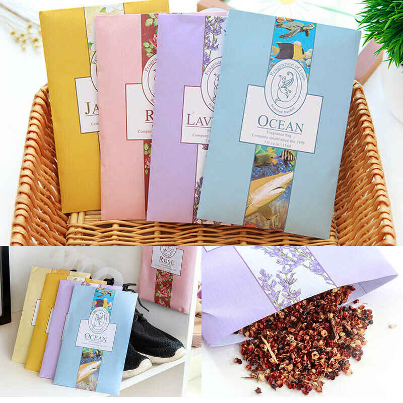 Scented Drawer Sachet Air Freshener Pot Pourri Fragrance Fresh Scent Cabinet Drawer Can Be Hung Type Aromatherapy Bag
