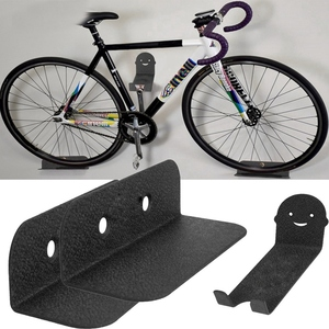 Image 5 - Mountain Bike rack Bicycle Wall Mounted Holders Heavy Duty Bike Hanger Holds Up To 30Kg