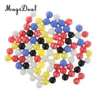 90 штук 16 мм цветные стеклянные шарики, Детская традиционная игрушечная ваза для игры в мяч и украшение для аквариума